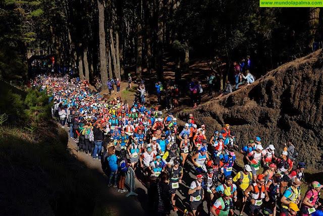 Mil atletas agotan las plazas de la ultra de Transvulcania con seis meses de antelación