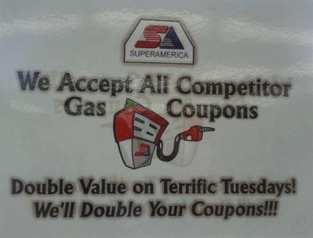 sa double gas coupons