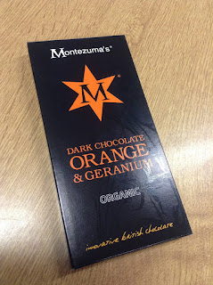 montezumas dark chocolate orange and geranium