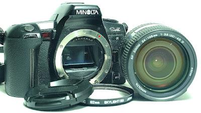 Minolta Alpha Sweet (Black) Body #449, Minolta AF Zoom 24-105mm Maxxum AF 50mm 1:3.5~4.5 #131