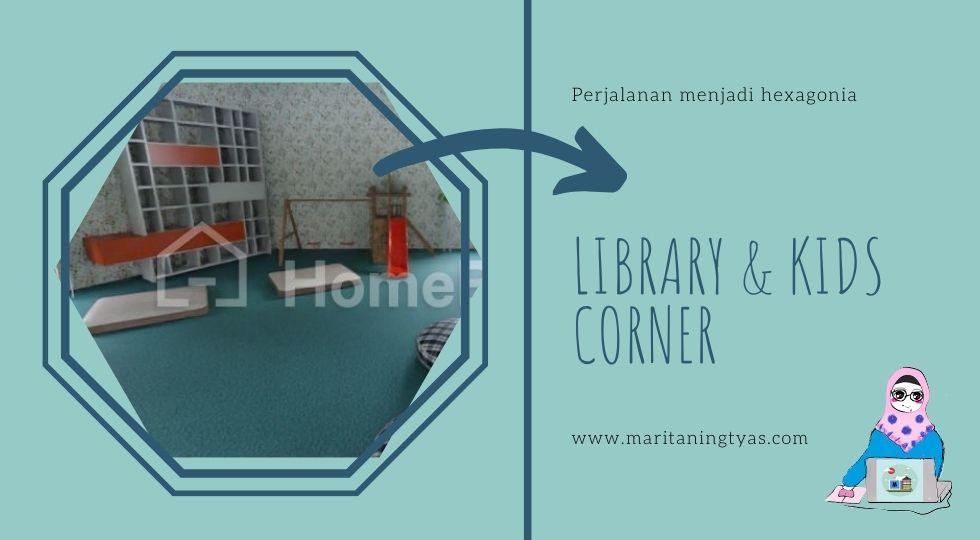 my library and kids corner hexa palace