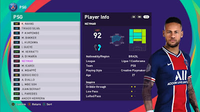 PES 2020 RT Graphics Menu Mod PES 2021 by Rean Tech