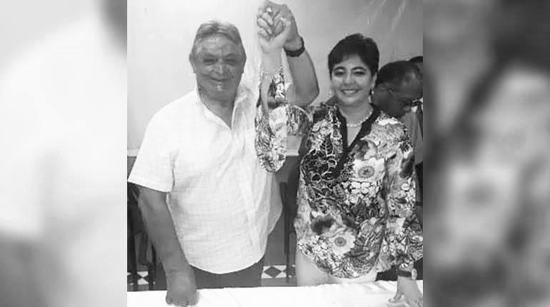 Paz Zamora y Barriga fueron designados como binomio del PDC con 720 votos vinculantes / RRSS
