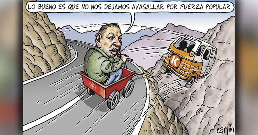 Carlincaturas Lunes 25 Diciembre 2017 - La República