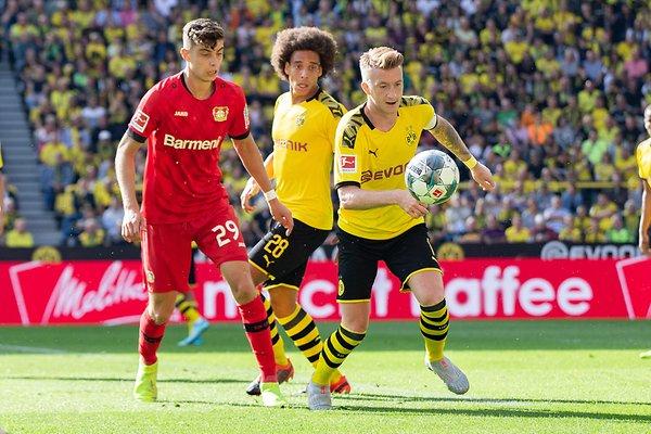 موعد مباراة بوروسيا دورتموند القادمة وباير ليفركوزن والقنوات الناقلة في الدوري الألماني