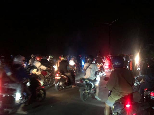 Bentrok di Jalan Raya Pantai Holtekamp-Jembatan Merah Jayapura, 7 Warga Nafri dan Enggros Luka-Luka.lelemuku.com.jpg