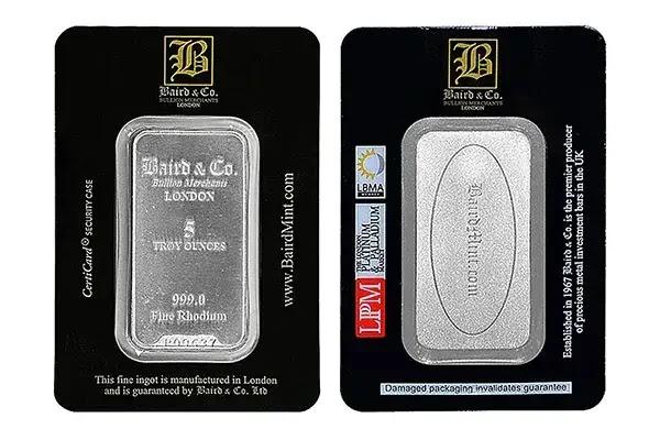 logam termahal di dunia Rhodium
