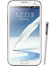 Galaxy note 2 Screen Size