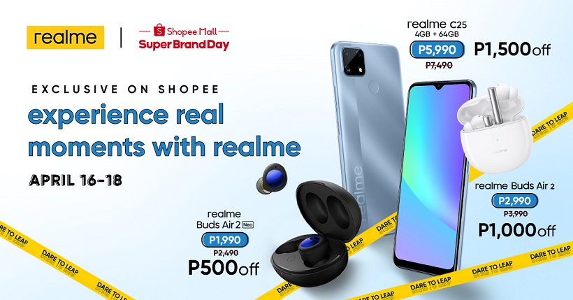 realme C25 debuts in PH, available initially thru Shopee