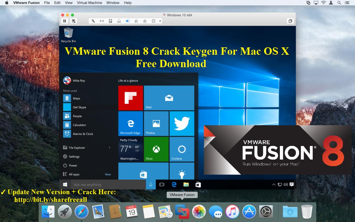 vmware fusion pro 10 crack