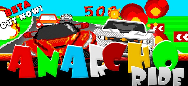 Indie Retro News: Anarcho Ride - Arcade smashing racer for