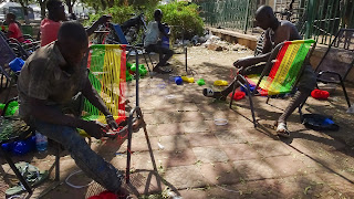 Mali has big export with self and handmade chairs