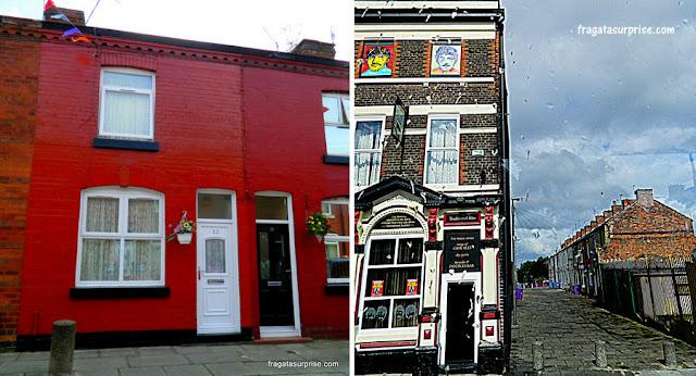 Casas de George Harrison e Ringo Starr em Liverpool