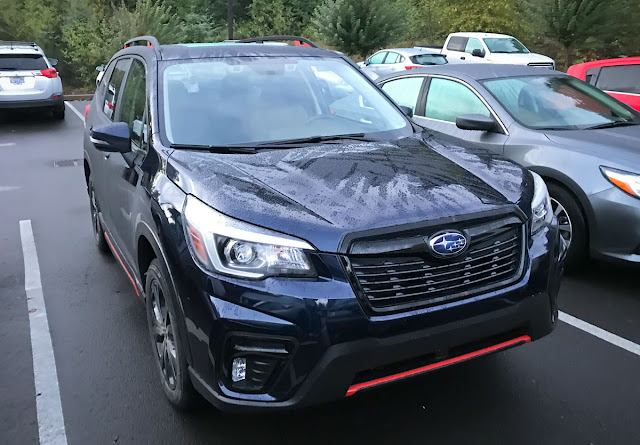 2019 Subaru Forester Sport front