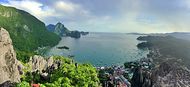 Splendid view from Taraw Cliff