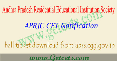APRJC hall ticket 2019-2020 download, Results @aprjdc.apcfss.in