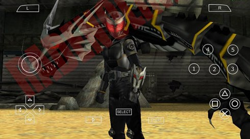 Download Kumpulan Game Kamen Rider PPSSPP Iso Android All Series