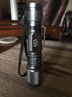 AYL TF89 Bright 900 Lumens CREE XM-L2 LED Tactical Torch Flashlight, 5 Modes, Zoom Lens with Adjustable Focus - Water Resistant, Lighting Lamp - For Hiking, Camping, Blackouts and Emergencies!