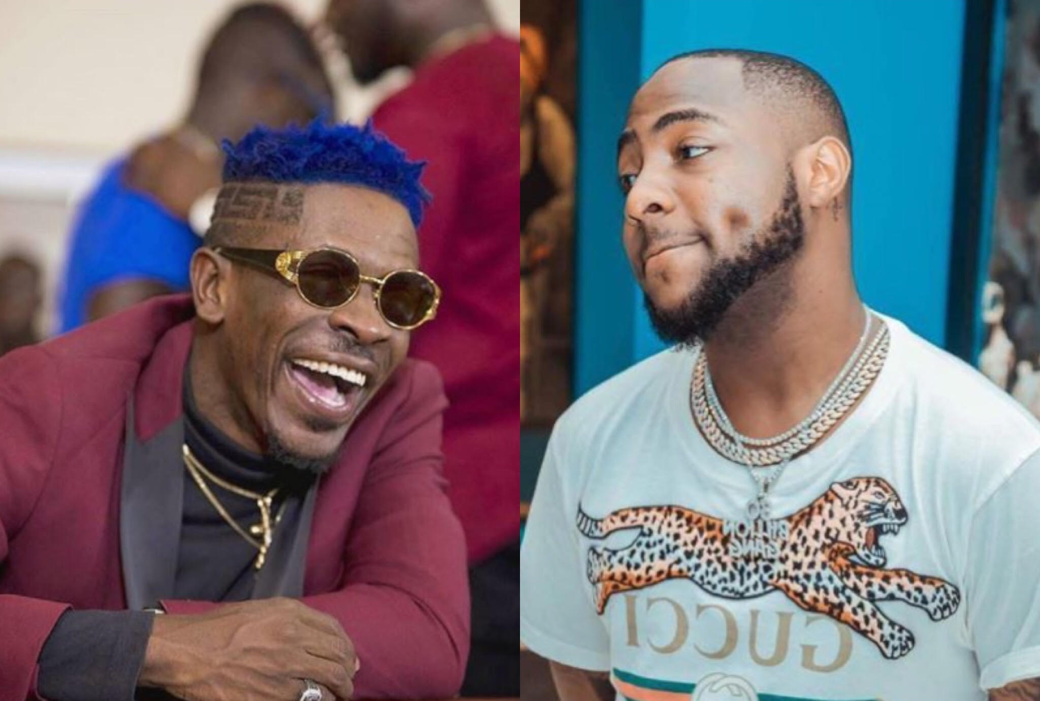 I don't use my father's money for hype - Shatta Wale Trolled Davido (SCREENSHOT)