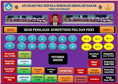 Aplikasi PKG Khusus Kepala Sekolah Dasar (SD) Versi 360