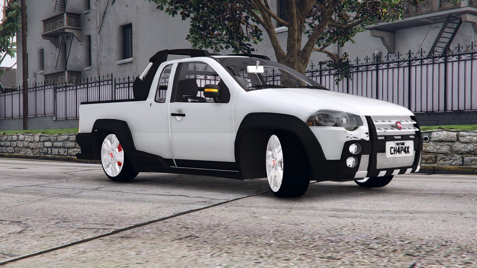 Fiat Strada 2018 Gta V Jr Gameplay Mods