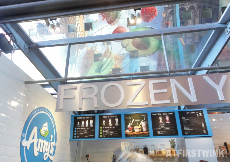 Amy's frozen yoghurt markthal Rotterdam Netherlands