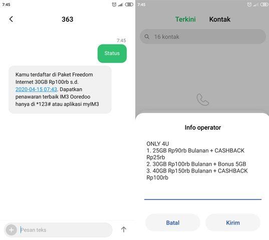 Cara Mendapatkan Paket Indosat 35 GB 100.000