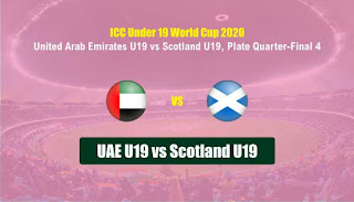 cricket prediction 100 win tips UAE-19 vs SCO-19