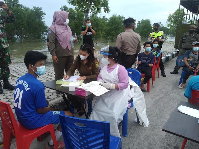 Cegah Penyebaran Covid-19, Forkopimda Karimun Turun Melaksanakan Operasi Yustisi