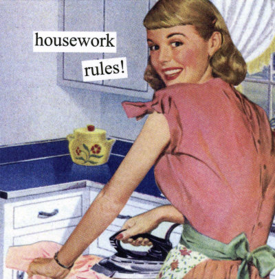 Housewife Tips On Being Super Hot and Not Slacking On The House