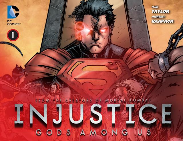 Injustice Gods Among Us Vol 1