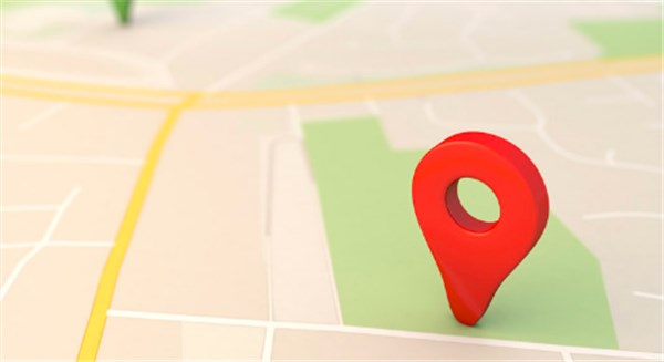 how to drop a pin on google map