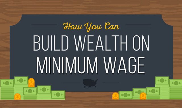 How You Can Build Wealth on Minimum Wage