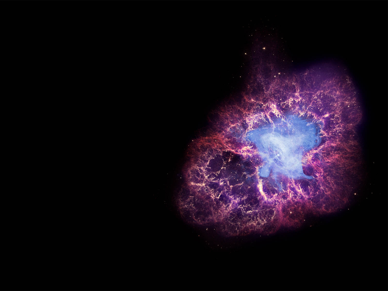 wallpaper: Crab Nebula