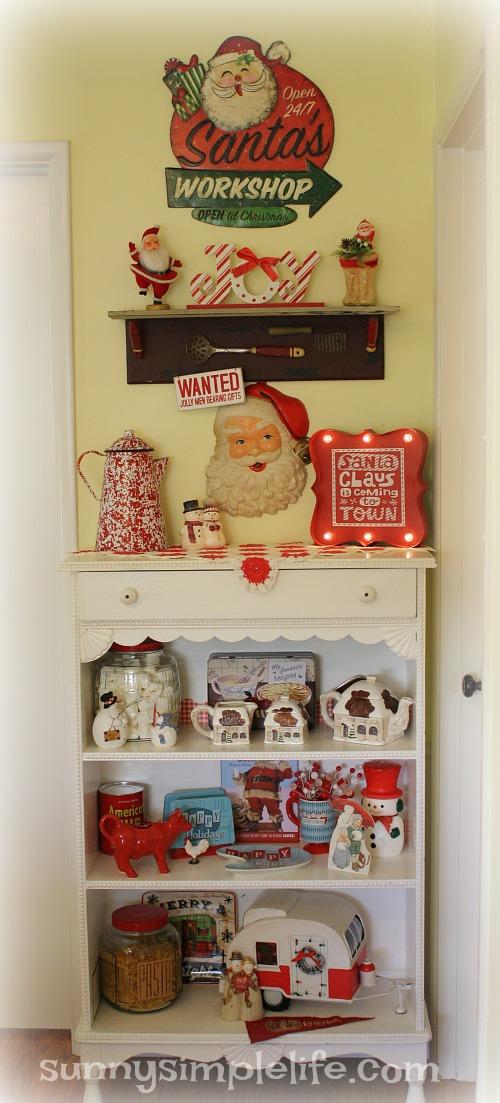 farmhouse Christmas, retro Christmas
