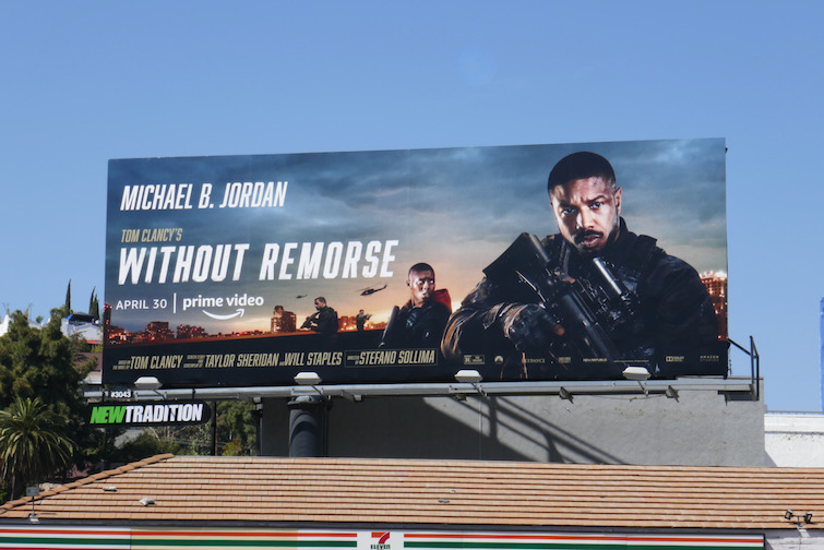 Tom Clancys Without Remorse film billboard