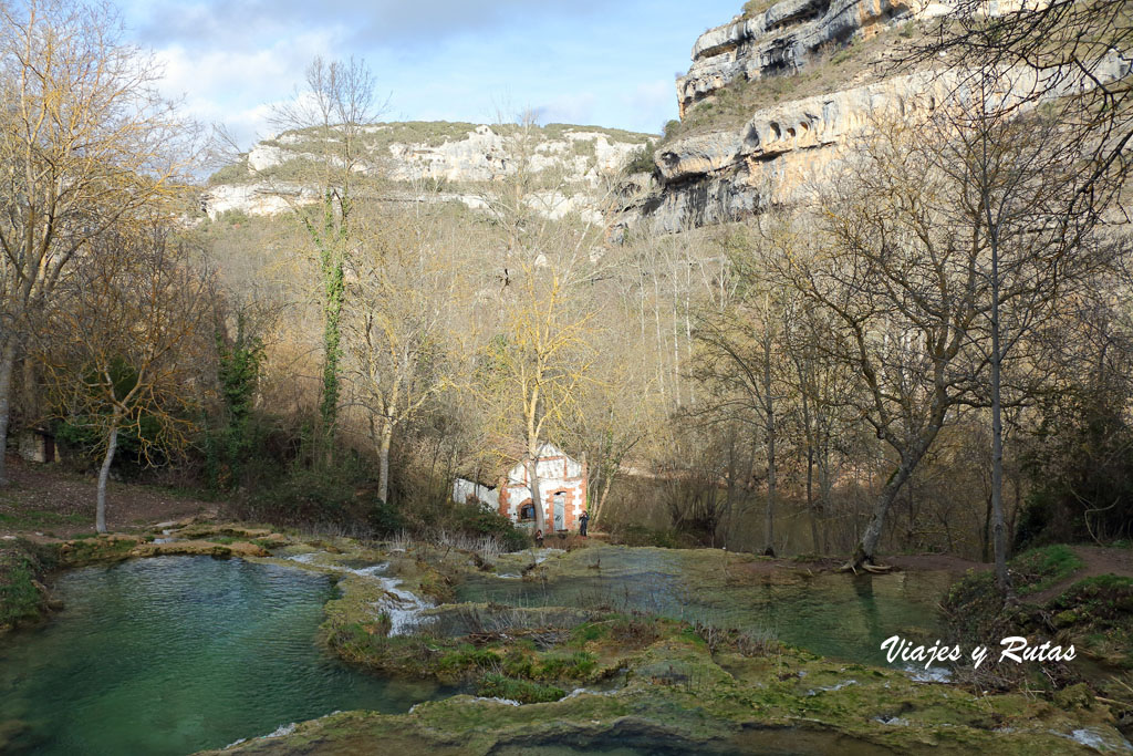 Pozas de Orbaneja del Castillo
