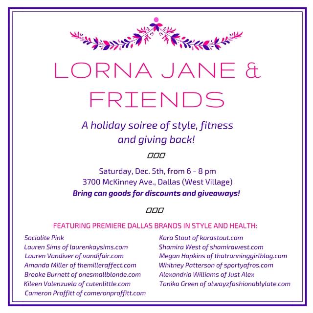 fashion blogger, dallas blogger, lorna jane, dallas events, black girl blogger, fashion, lorna jane store, socialite pink