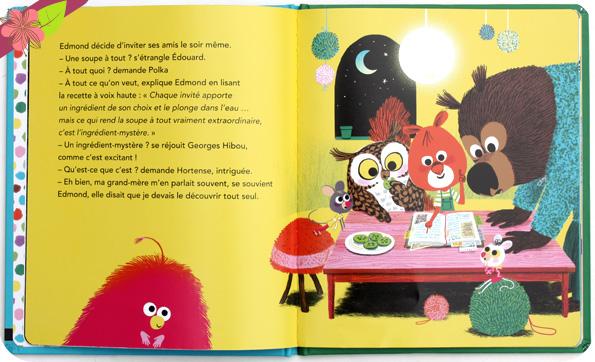 La soupe à tout ! d'Astrid Desbordes et Marc Boutavant - éditions Nathan