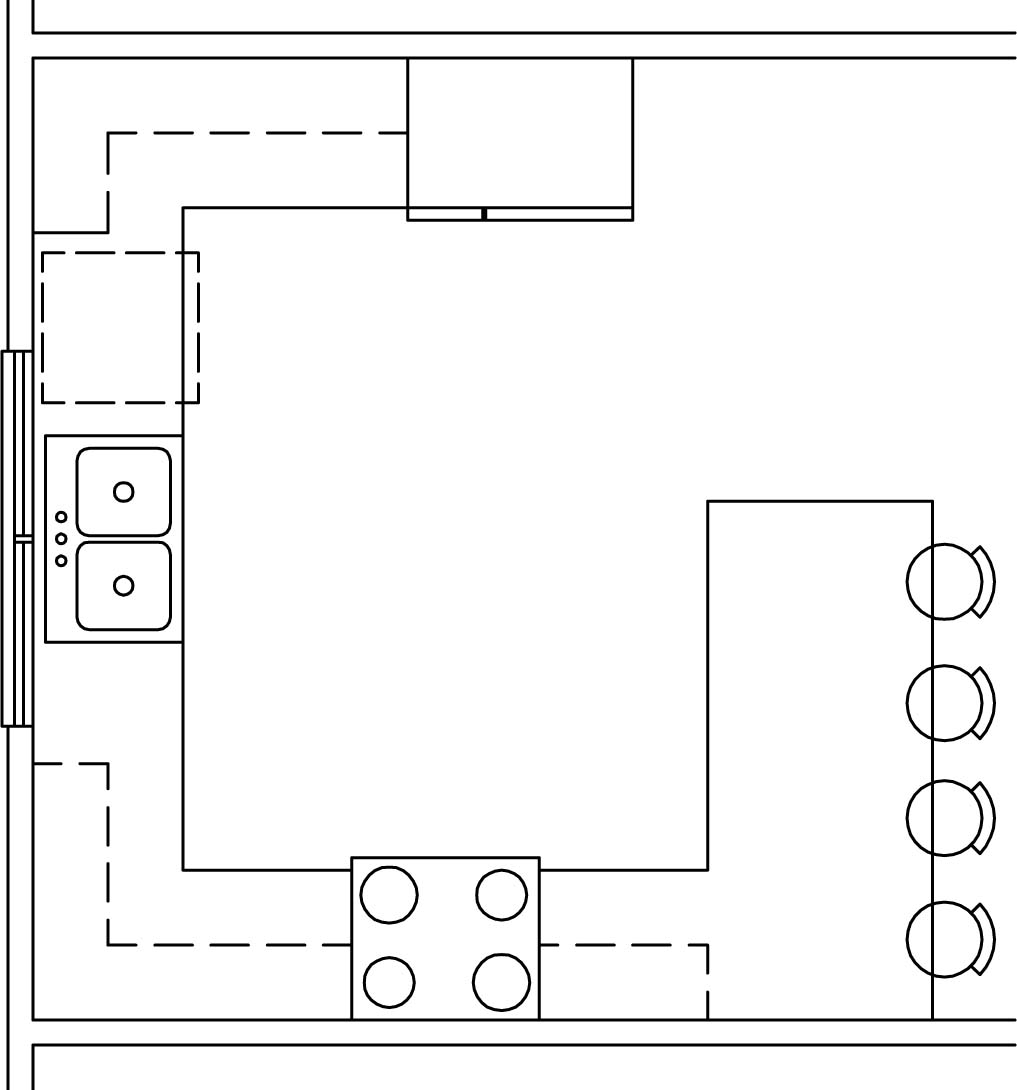 Kitchen Cabinet Layout Templates