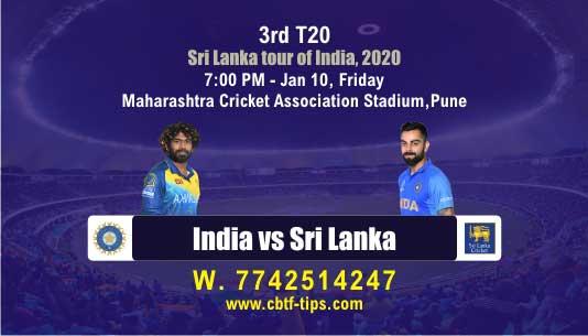 cricket prediction 100 win tips IND vs SL