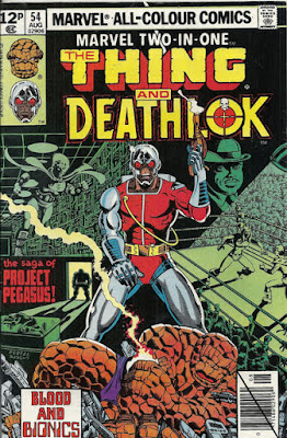 Marvel-Two-In-One, the Thing and Deathlok
