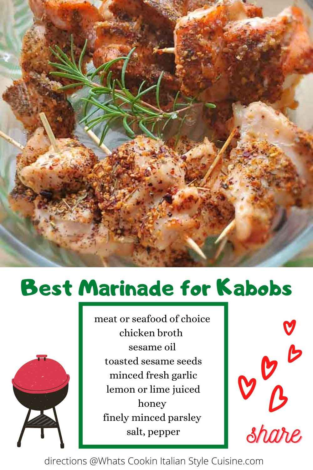 best pin for later marinade for meats and seafood recipes