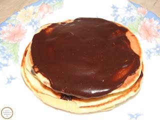 Clatite americane cu ciocolata reteta,