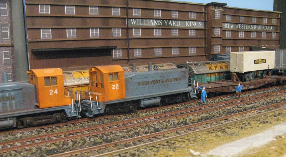 The Kings Port Division HO Scale Model Railroad : Intermodal ops  1D
