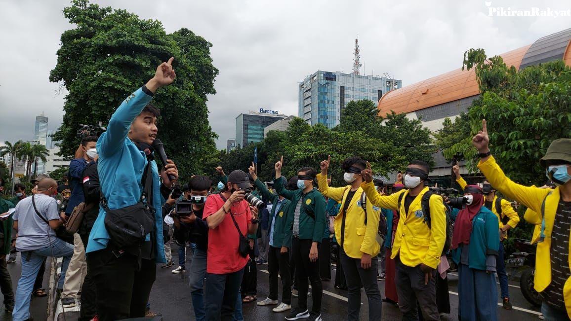 Duh! Sejumlah Mahasiswa Alami 'Teror Daring' Usai Ikut Aksi Unjuk Rasa di KPK