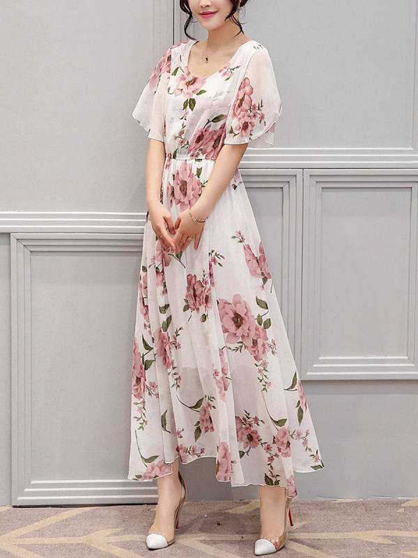 https://www.selaros.com/item/round-neck-floral-bell-sleeve-maxi-dress-19465.html