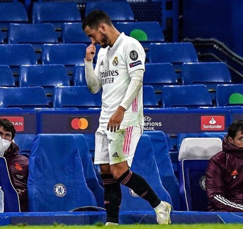ايدن هازارد لجماهير ريال مدريد أنا اسف !