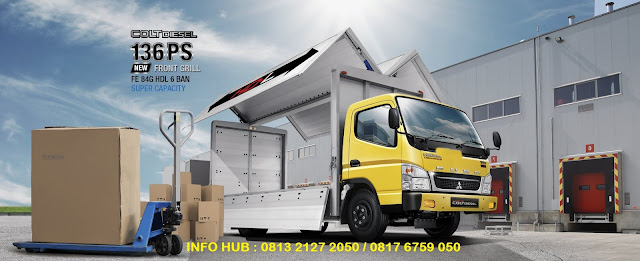 promo harga mobil wing box colt diesel canter tahun 2020