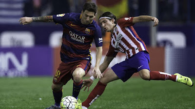 Soccer : Atletico Madrid Hosts Barcelona in Champs League Quarterfinals